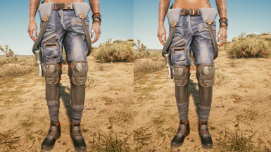 Left is without normal map fix, right is with