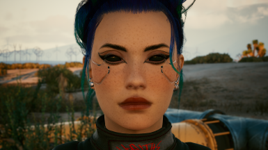 Edit no.18 - heavy freckled face