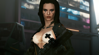 Valerie - CyberCAT Preset And Outfit