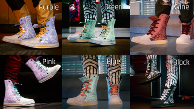 Custom - Converse Collection (works with fem V)