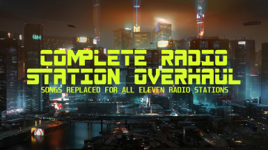 Complete Radio Station Overhaul - Replacers for All Eleven Stations