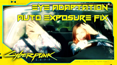 Eye Adaptation Auto Exposure Fix - No More Blinding Lighting Changes
