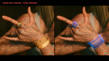 Jackie Arm Jewelry - Color Variants