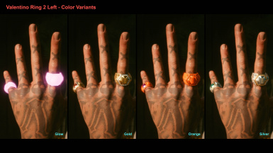 Valentino Ring 3 Left - Color Variants