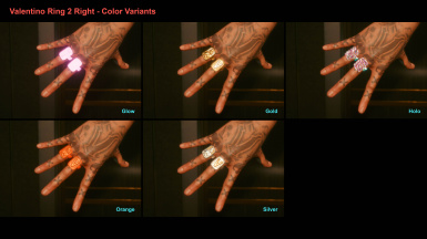 Valentino Ring 2 Right - Color Variants