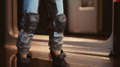 Knee pads in: wraith