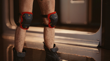 Knee pads: small version (available in all colours)