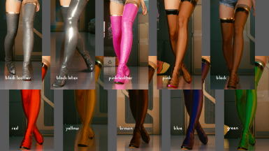 Colors: Stocking Boots
