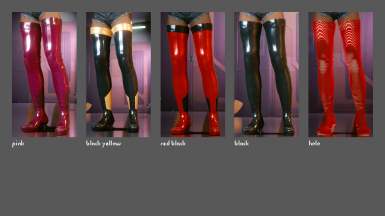 Colors: Evelyn Boots