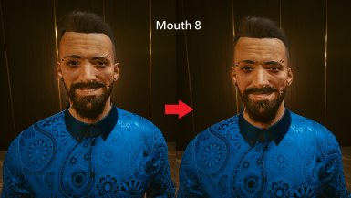 Mouth 8 - Higher Version