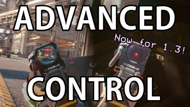 Advanced Control for 1.3 -- Manual Leaning - Etc.