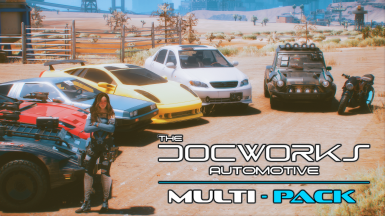 The DocWorks Multi-Pack - A Collection of High-Quality Vehicle Mods