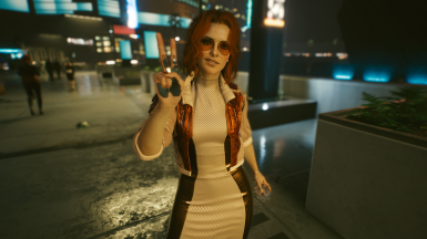 Cyberpunk 2077 start at ACT 2 female corpo save file