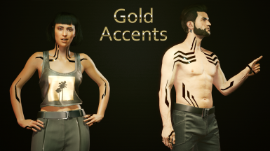 Optional File: B - Gold Accents