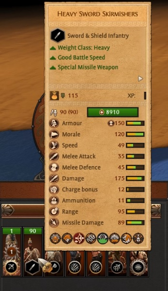 Non Range Army Units Enhancements mod Player Only