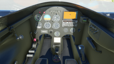 Long-EZ Carbon Interior Mod (livery included)