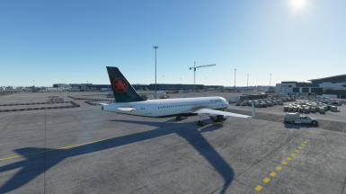 A320-Neo Air Canada Latest Livery