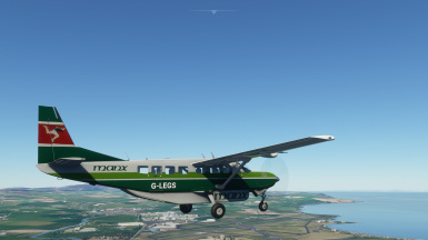 Grand Caravan Manx Airlines livery