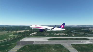 FS2020 A320 NEO First Mainline livery