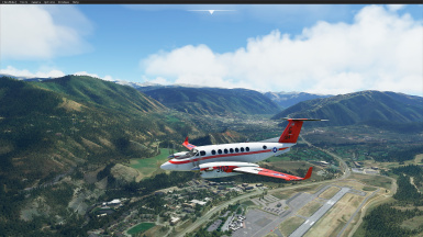 Army Navy and US Air Force Liveries for the King Air 350
