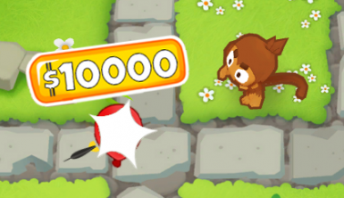 Change Cash From Bloon Pops