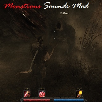 Monstrous sounds mod