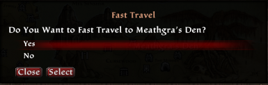 Fast Travel Anywhere