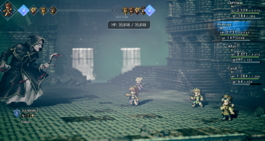 Octopath Traveler Hard Difficulty Option