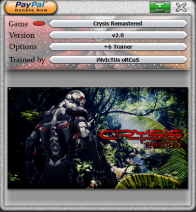 Crysis Remastered Trainer