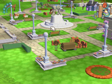 MySims NEW Town Square