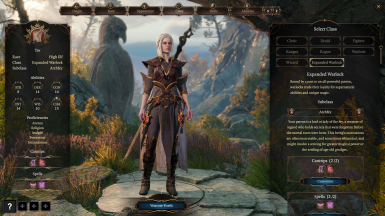 Archfey Character Create (With ImprovedUI)