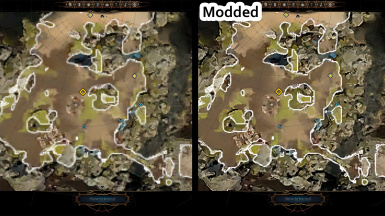Crispy Map - Double Resolution of World Map