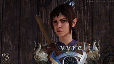 Shadowheart Alternate Hair - Patch 6 Compatible