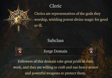 Expanded Cleric Domains