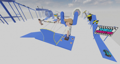 Fynnpire's Playground Hydraulic Press and Hamster Wheel and Slingshot and Death Run