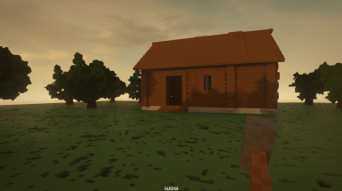 Cabin With Some Trees Map