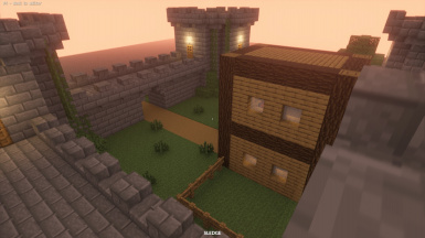 Small Minecraft Castle