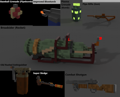 Fallout Weapons Re-Model Pack