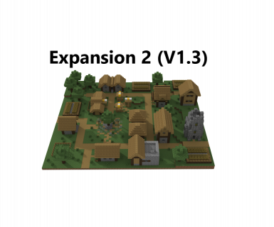 Minecraft Small Town