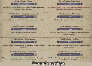 World of Destiny (with AGOT Submod) at Crusader Kings 2