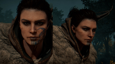 soma face w tatoo crows         line is in game