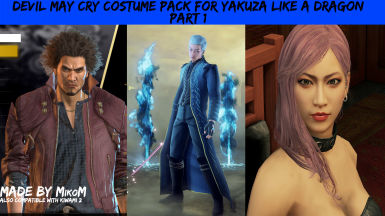 Devil May Cry Costume Pack