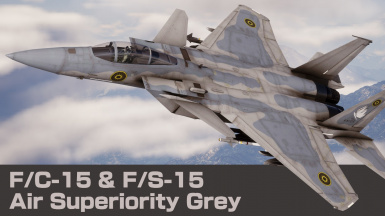 FC-15 and FS-15 Air Superiority Grey