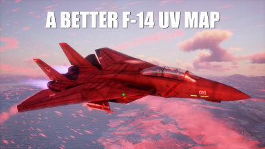 A Better F-14 UV Map