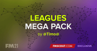 Leagues Mega Pack 216 nations  10 others  by Timo