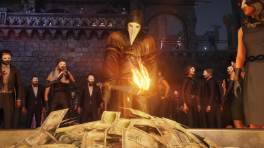Plague Doctor Replaces Italian Suit with Gloves (And More Options)