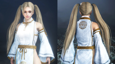 Longer Twin-Tails Hairstyle