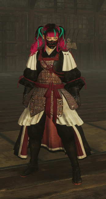 Suzuka Chest and Pants (Skirt) Recolour
