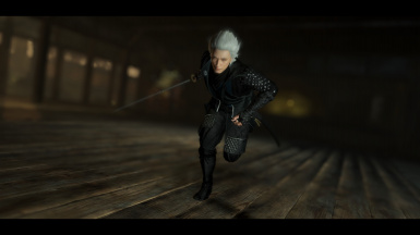DMC5 Vergil Inspired Outfit - Male Only