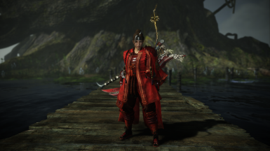 Red Demon Cloak Removal